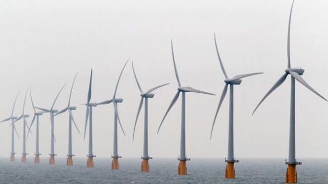 UK offshore wind turbines