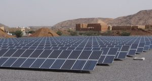Oman Botanical Gardens - One of Enviromena's many solar projects - Credit: Environmena