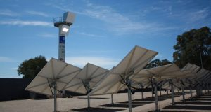 Solar park to drive plastic heliostat development - Credit: Andrew Spence