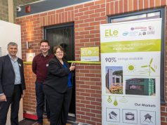 West Lancashire MP Rosie Cooper was on hand to help unveil ELe's latest solutions in power consumption efficiency.