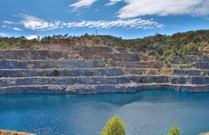 The former Highbury quarry on the outskirts of Adelaide is slated to become a pumped hydro storage site. Photo: Tony Lewis/InDaily.