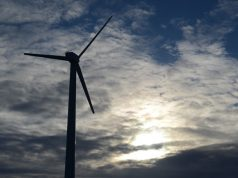 UK wind energy turbine