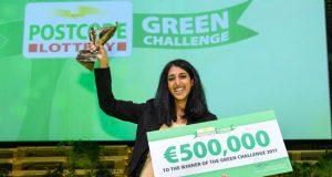 Gayatri - Postcode Lottery Green Challenge Winner