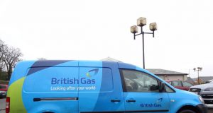 British Gas - van