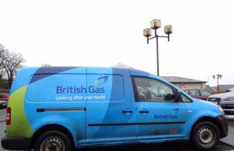 British Gas - van