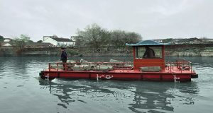 The City of Suzhou in eastern China has deployed a fleet of electric workboats powered by Torqeedo motors as part of a program to clean up its canals and waterways