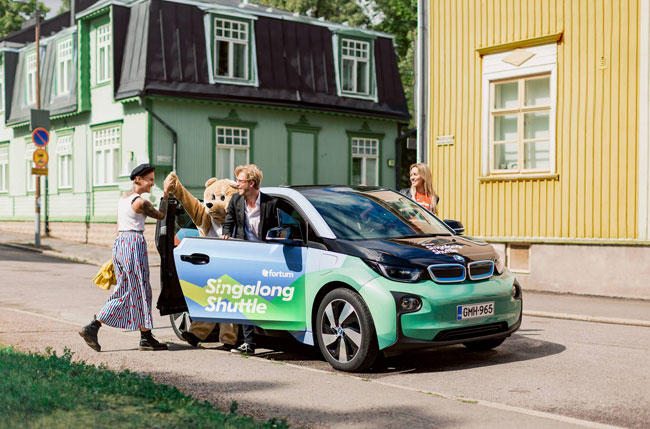 Singing Taxi From Clean Energy Firm Fortum Introduced In Finland