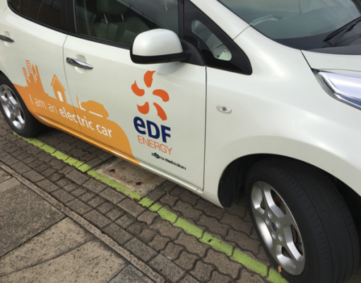 EDF Electric Car