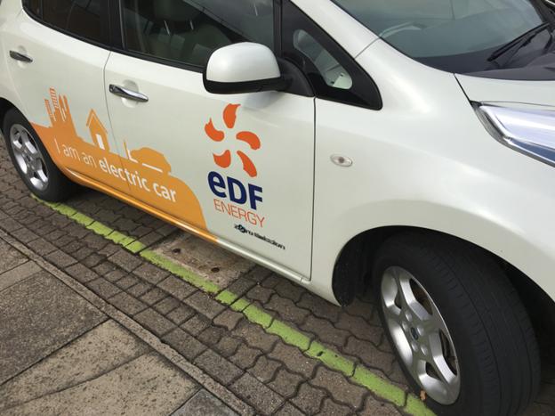 EDF Electric Car
