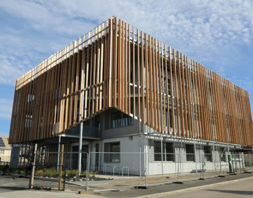 The Perch Eco Business Centre Bicester, developed by Cherwell District Council and supported by European Regional Development Funding, is a vibrant new workplace in Elmsbrook, North West Bicester.
