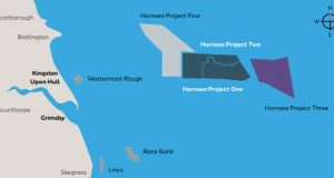 Hornsea wind power