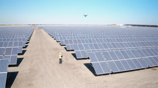 Leading solar companies are transitioning to drones for surveying, inspection, and design
